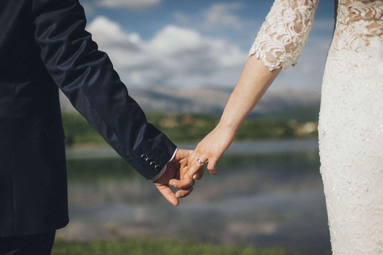 dalmatian wedding :: split in love