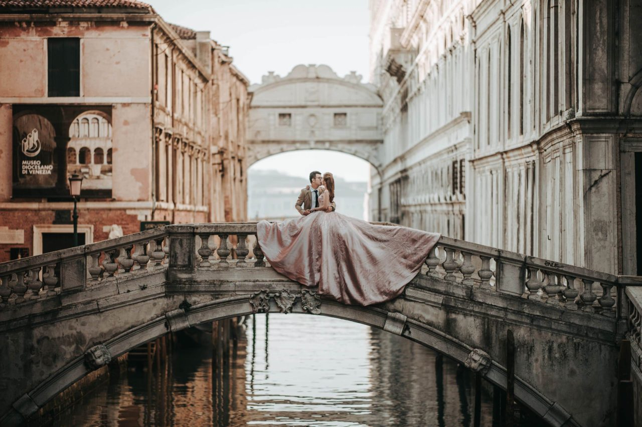 engagement shooting venice italy