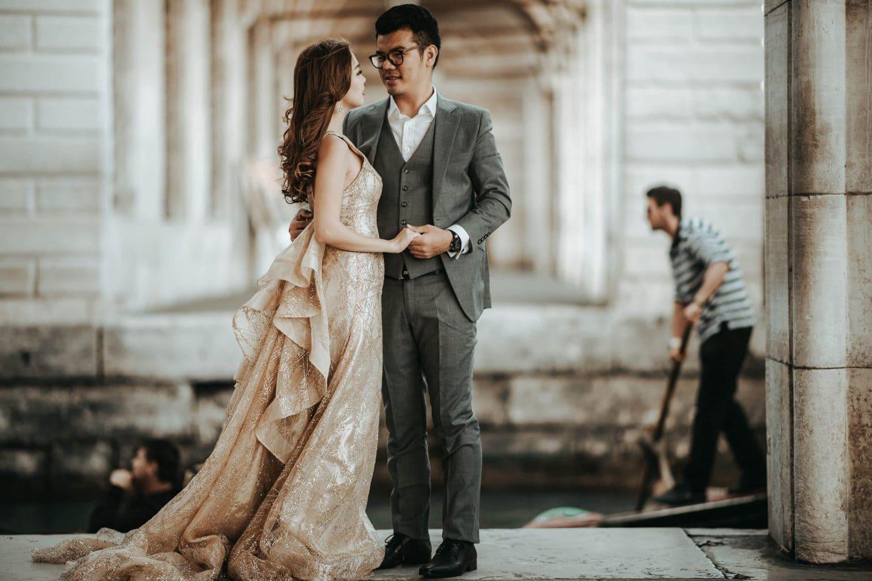 pre wedding photographer venice italy
