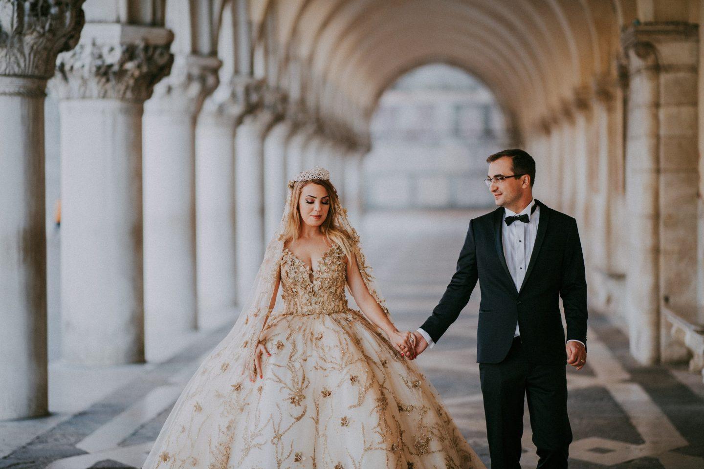 intimate wedding venice westin europa regina italy