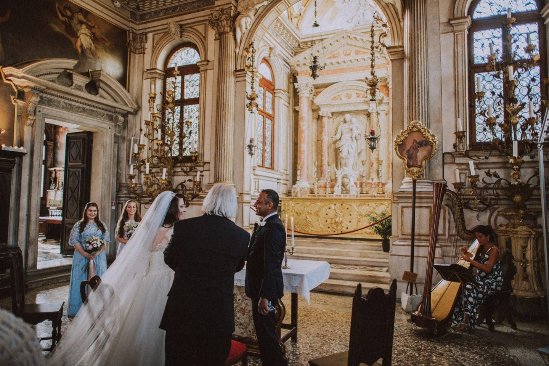 intimate venice wedding at scuola grande dei carmini