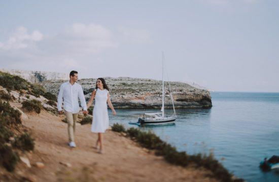 comino blue lagoon love story