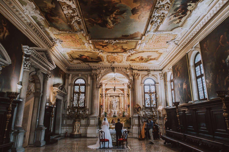 luxury elopement scuola grande dei carmini venice